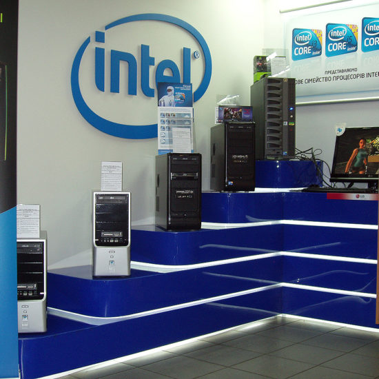 Бренд зона «Intel»