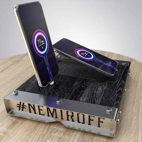 Зарядні станції для компанії «Nemiroff»