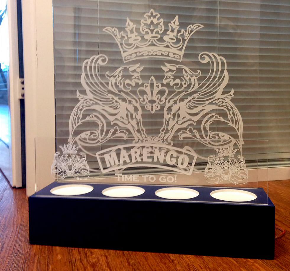 Виготовлення акрилайтів для ТМ «Marengo»