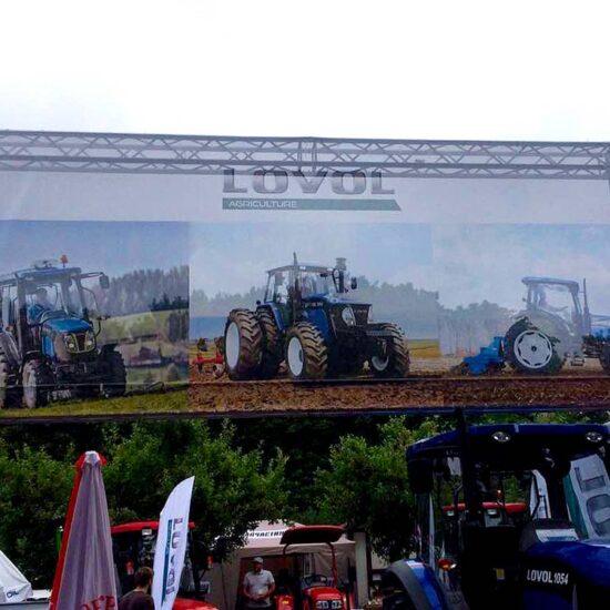 Виготовлення та монтаж банеру для сільськогосподарської виставки