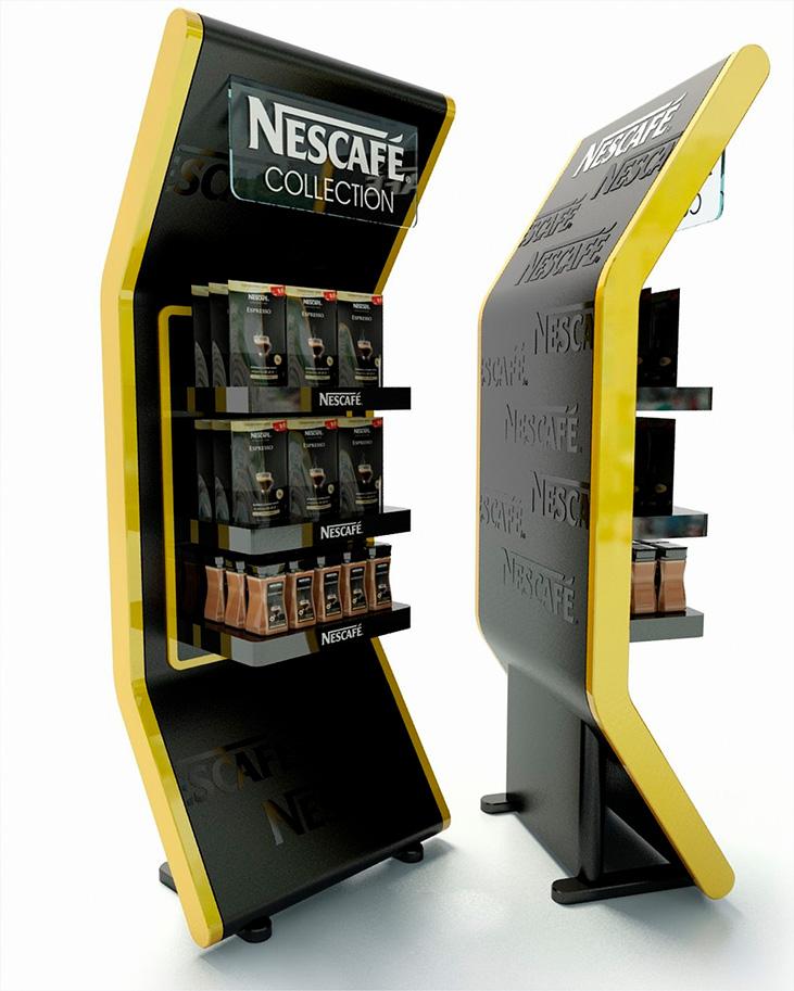 Розробка дизайну стійок для компанії «Nescafe»
