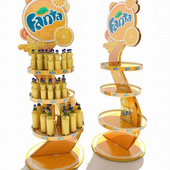 Розробка дизайну стійок для ТМ «Fanta»