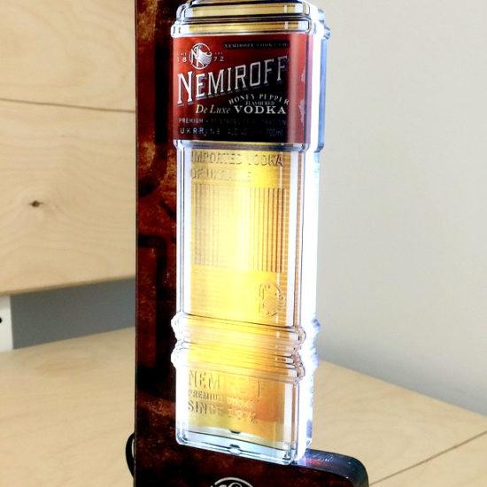 Виготовлення світлових двосторонніх стоперів для компанії «Nemiroff»
