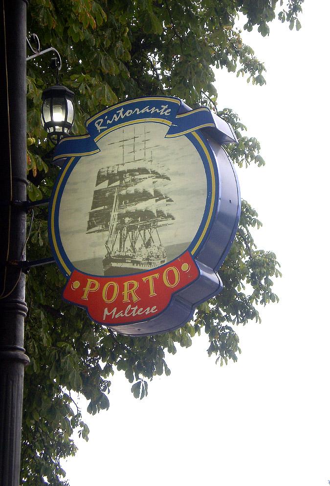 Виготовлення та монтаж світлового коробу для ресторану «Porto»