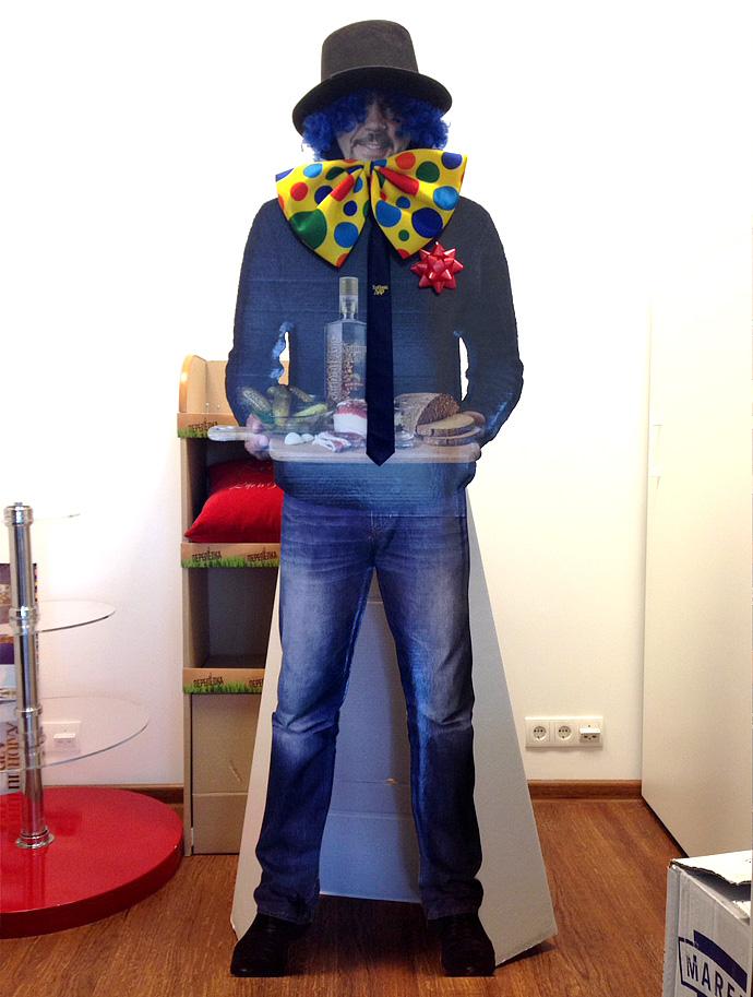 Виготовлення ростової фігури для компанії «Баядера»
