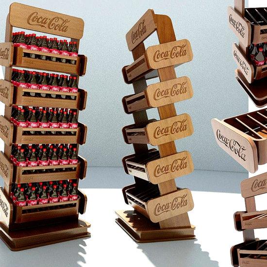 Торгові стійки для компанії «Coca Cola»