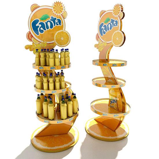 Торгові стійки для ТМ «Fanta»