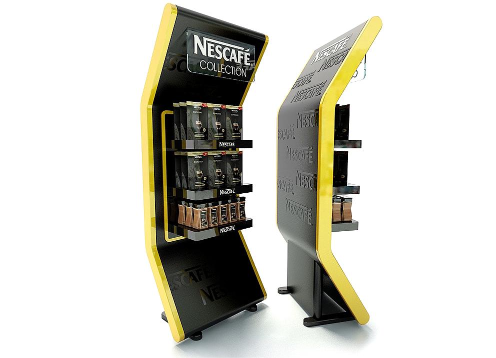 Торгові стійки для компанії «Nestle»