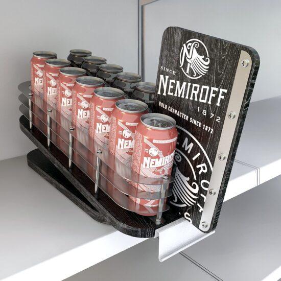 Торгівельне обладнання для компанії «Nemiroff»